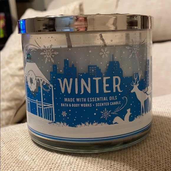 BBW 3 Wick Winter Candle